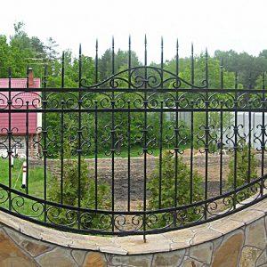 47 кованый забор