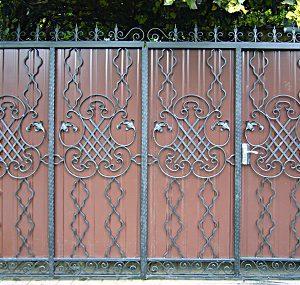 49 кованые ворота