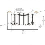 5 кованый забор 4