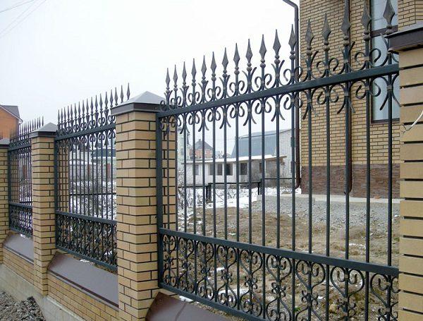51 кованый забор