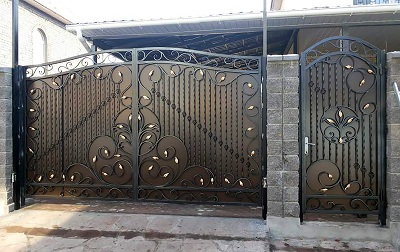 58 кованые ворота