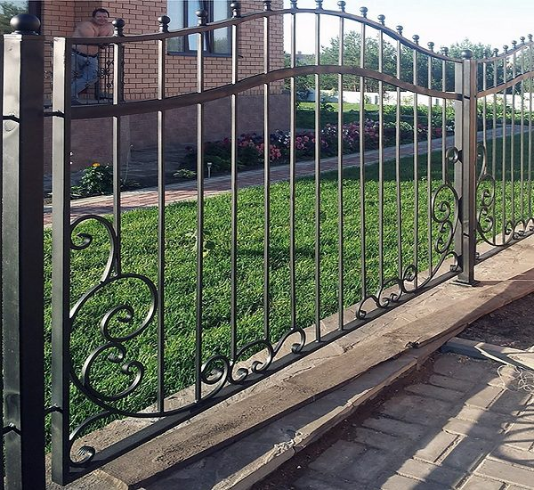 59 кованый забор