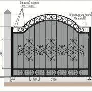 6 кованый забор 5