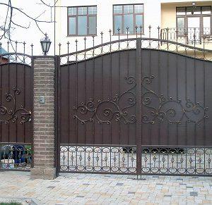 61 кованые ворота