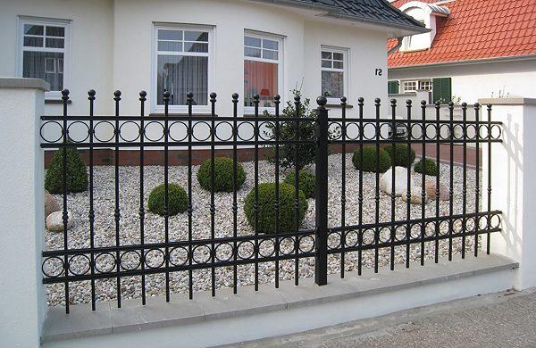 64 кованый забор