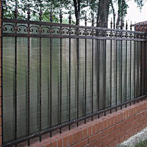 65 кованый забор