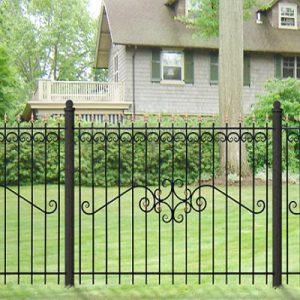 67 кованый забор
