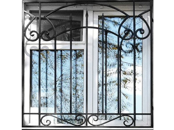 7 кованая решетка на окно
