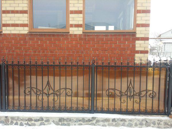 7 кованый забор 1