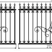7 кованый забор 5