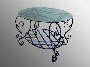 7 кованый стол