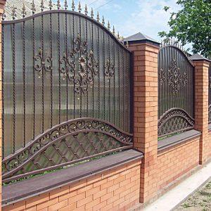 70 14 кованый забор