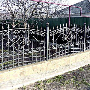 71 15 кованый забор