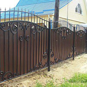 72 16 кованый забор