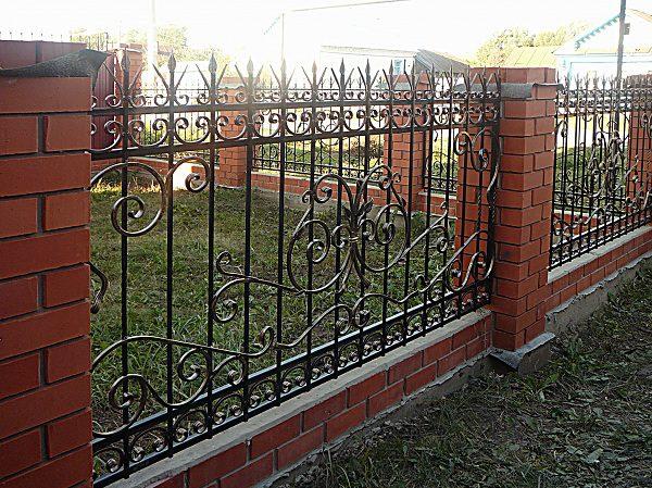 74 18 кованый забор