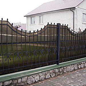 75 19 кованый забор