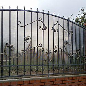 77 21 кованый забор
