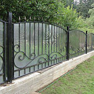 78 22 кованый забор