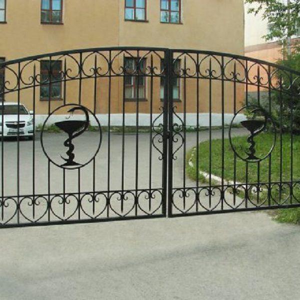 8-кованые ворота-1