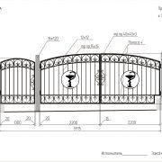 8-кованые ворота-3
