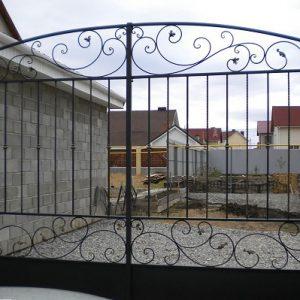 84 кованые ворота