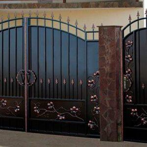 86 кованые ворота