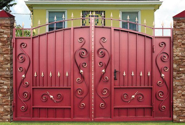 88 кованые ворота