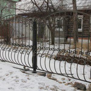 9 кованый забор 1