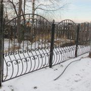 9 кованый забор 3