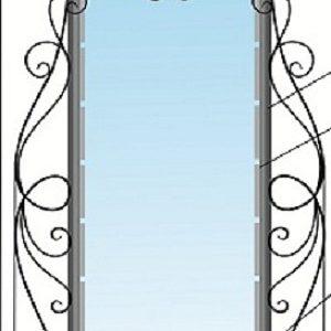 кованая рама для зеркала 017-1