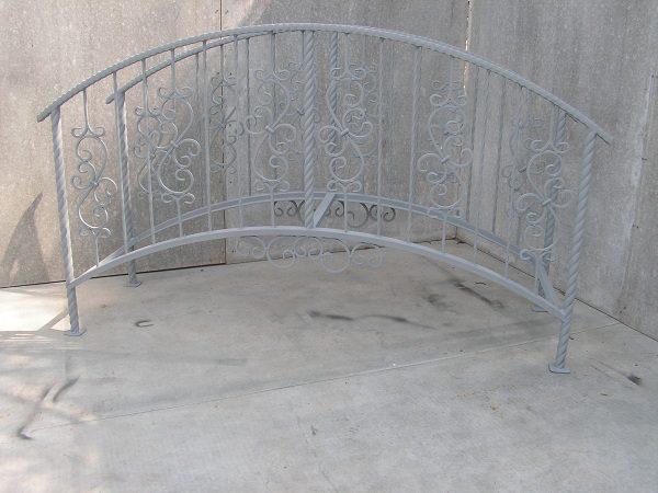 1 кованый мостик