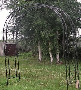 3 кованая арка 1