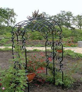 4 кованая арка