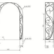 5 кованая арка 4