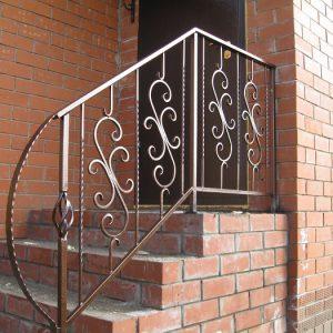 57 кованая лестница