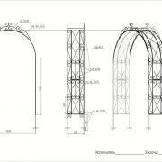 6 кованая арка 4