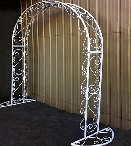 7 кованая арка