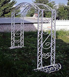 8 кованая арка