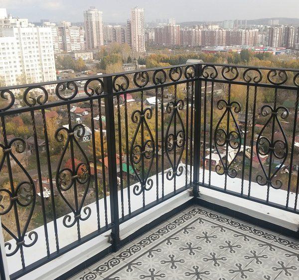 9 кованый балкон 1