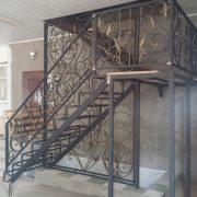 6 кованая лестница 3