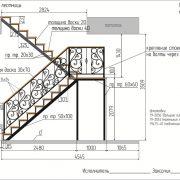 6 кованая лестница 4