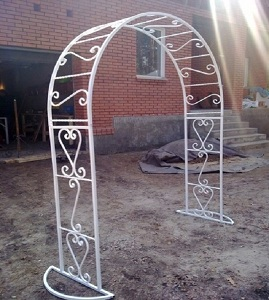 10 кованая арка 1