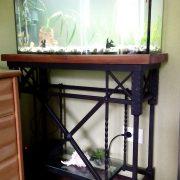 кованая подставка под аквариум 1