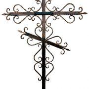 крест кованый КК