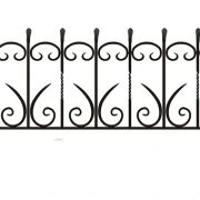 ограда ритуальная ОК-3 1