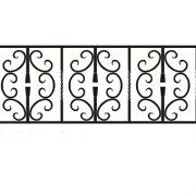 ограда ритуальная ОК-4 1