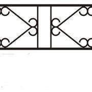 ограда ритуальная ОП-6 1