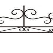 ограда ритуальная ОП-7 1