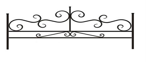 ограда ритуальная ОП-7