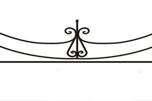 ограда ритуальная ОП-8